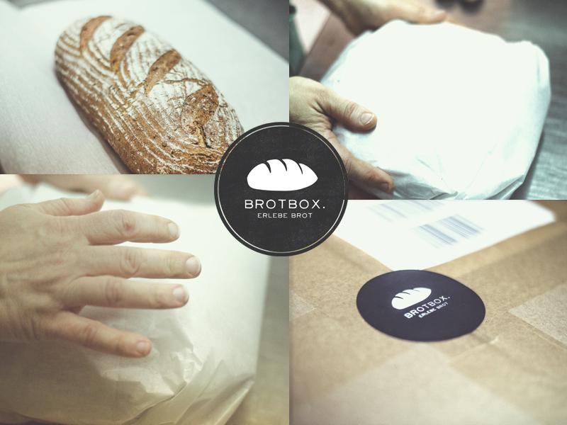 Die ersten Brote werden verschickt.