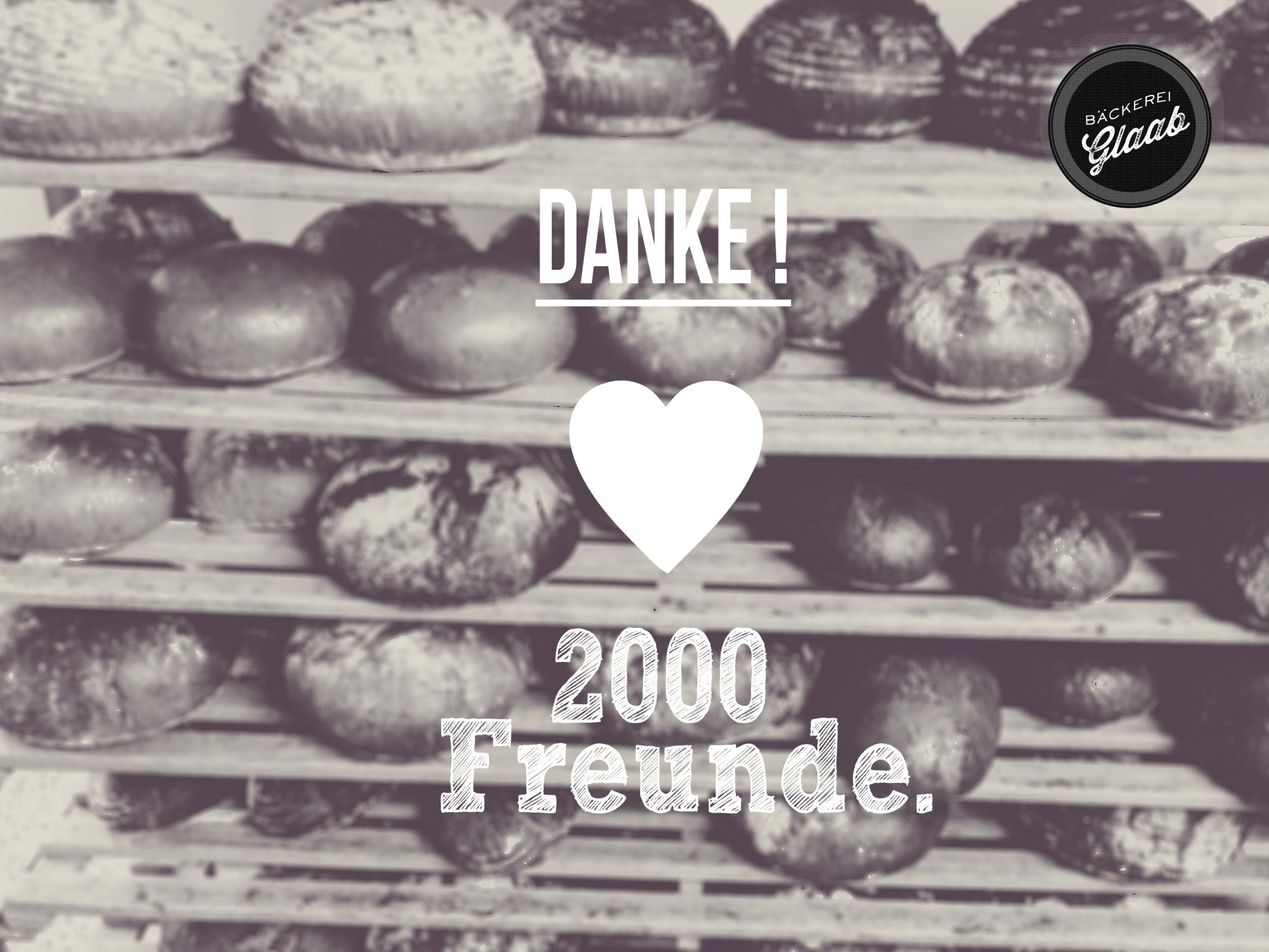 2000 Freunde !