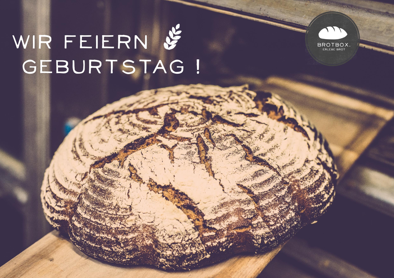 Brotbox. feiert Geburtstag !