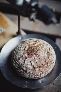 Koriander-Brot